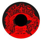 Livingstone 'Livy' Hurlock - Notty Become An Hurricaine / version (Black Fighting Heritage / DKR) EU 7""